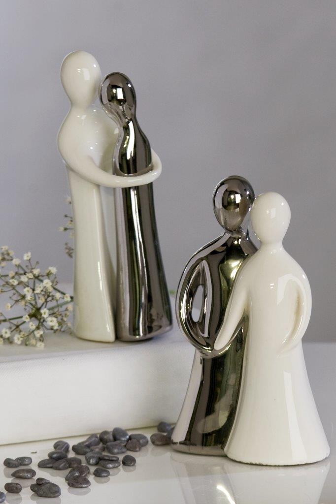 Modernes Brautpaar