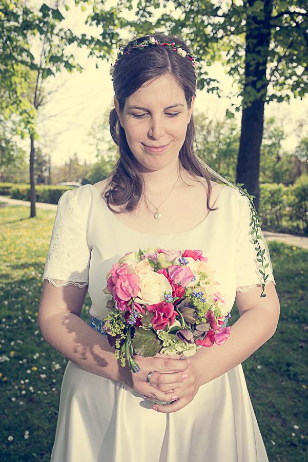 Vintage-Braut