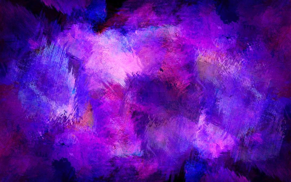 Mystische Violett-Töne