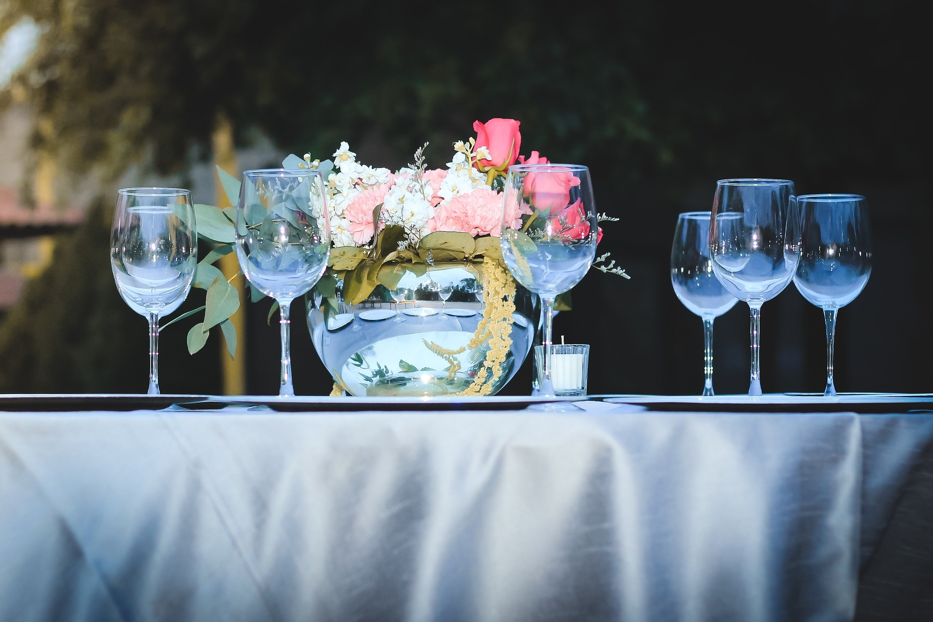 Typische Hochzeitstafel - Hochzeitstrends 2019