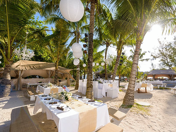Heiraten und feiern auf der Kokosinsel