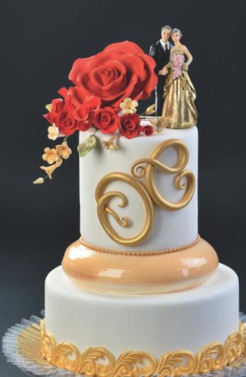 Goldenes Brautpaar