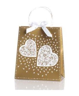 Geschenksackerl Zwei Herzen