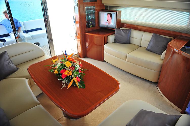 Moderne Yacht