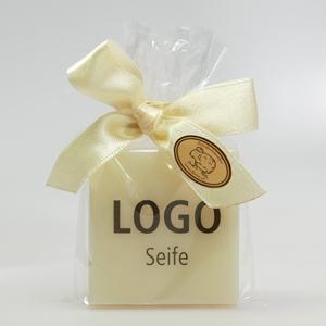 Logo-Seifen als ganz persönliche Gastgeschenke
