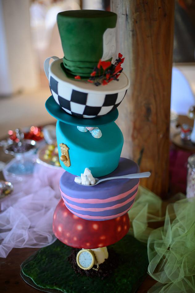 Whimsical Hochzeit - Hochzeitstorte