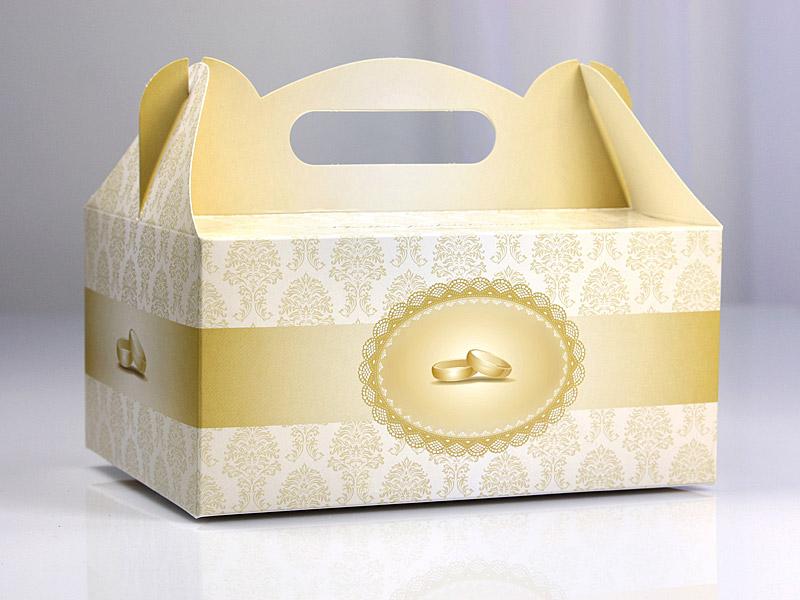 Kuchenschachtel Gold