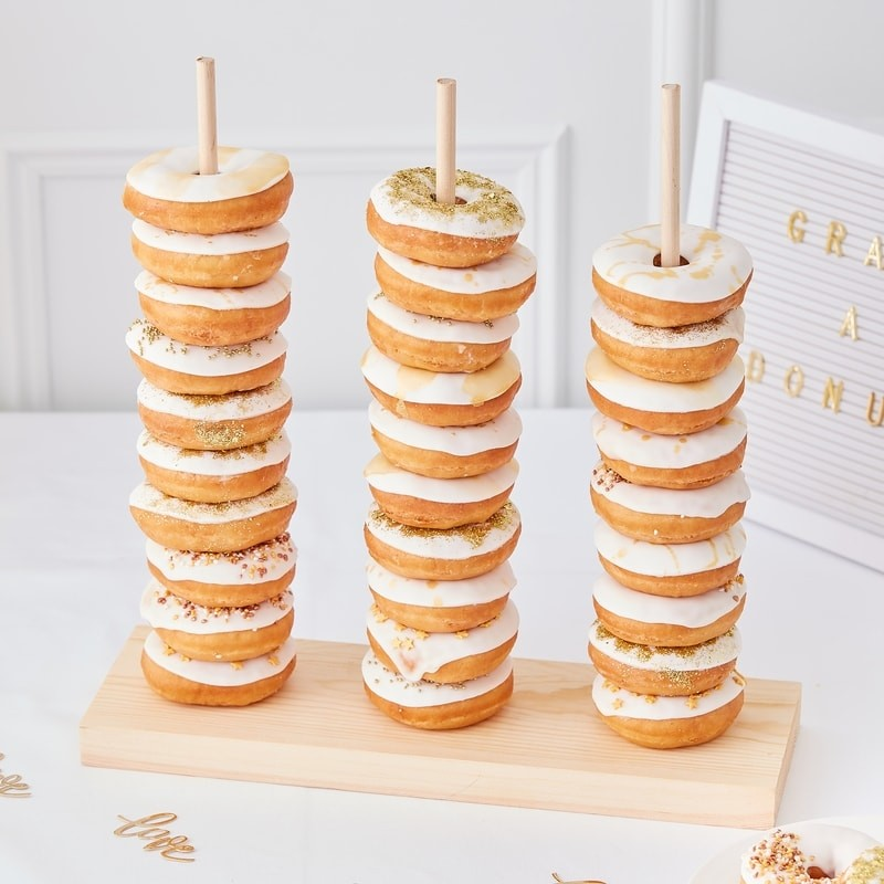 Donut-Türme - Hochzeitstrend 2019