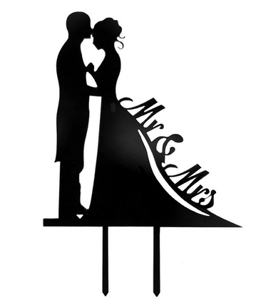 Mr. & Mrs.-Silhouette