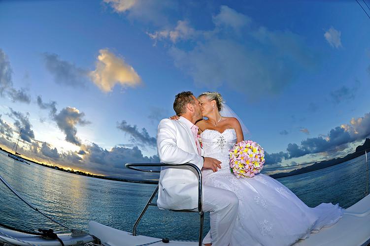 Hochzeit am Catamaran
