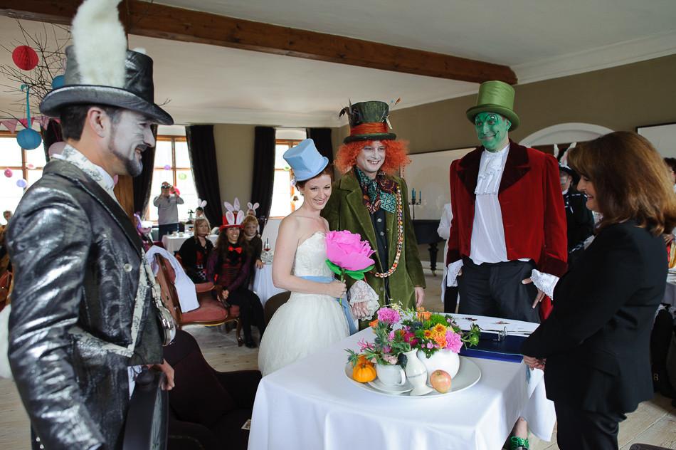 Whimsical Hochzeit - Trauung
