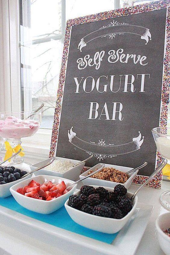 Yoghurt-Bar