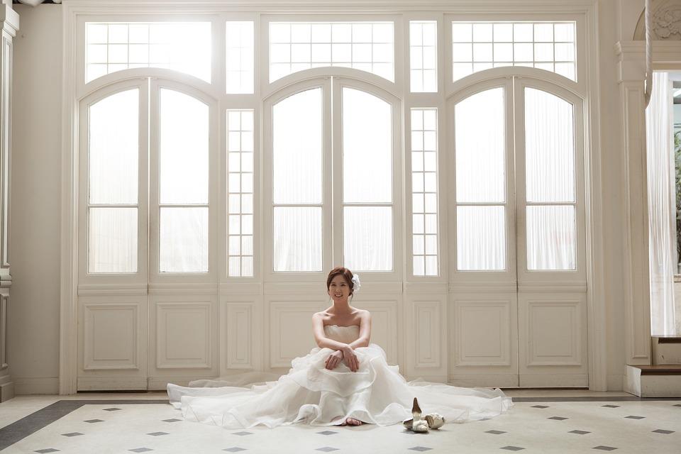 Der Traum eines Brautkleides