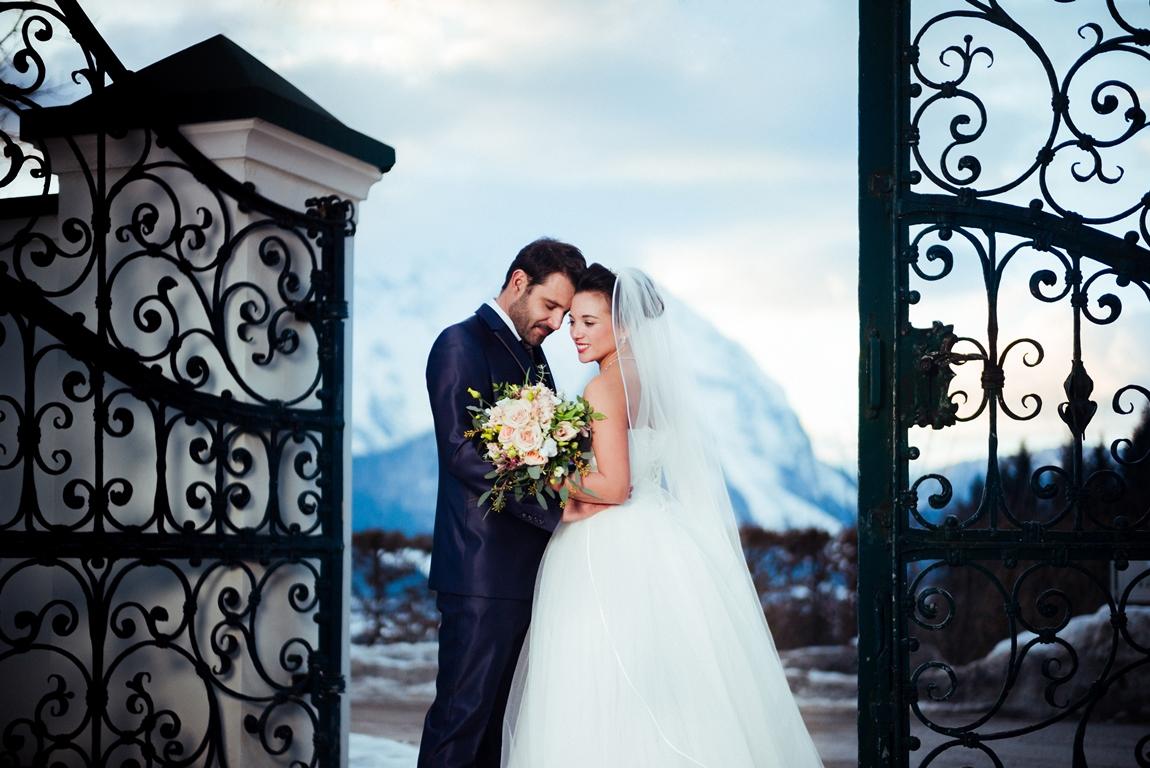 Romantik Hotel Schloss Pichlarn - Schloss-Hochzeit im Winter © Richard Schabetsberger