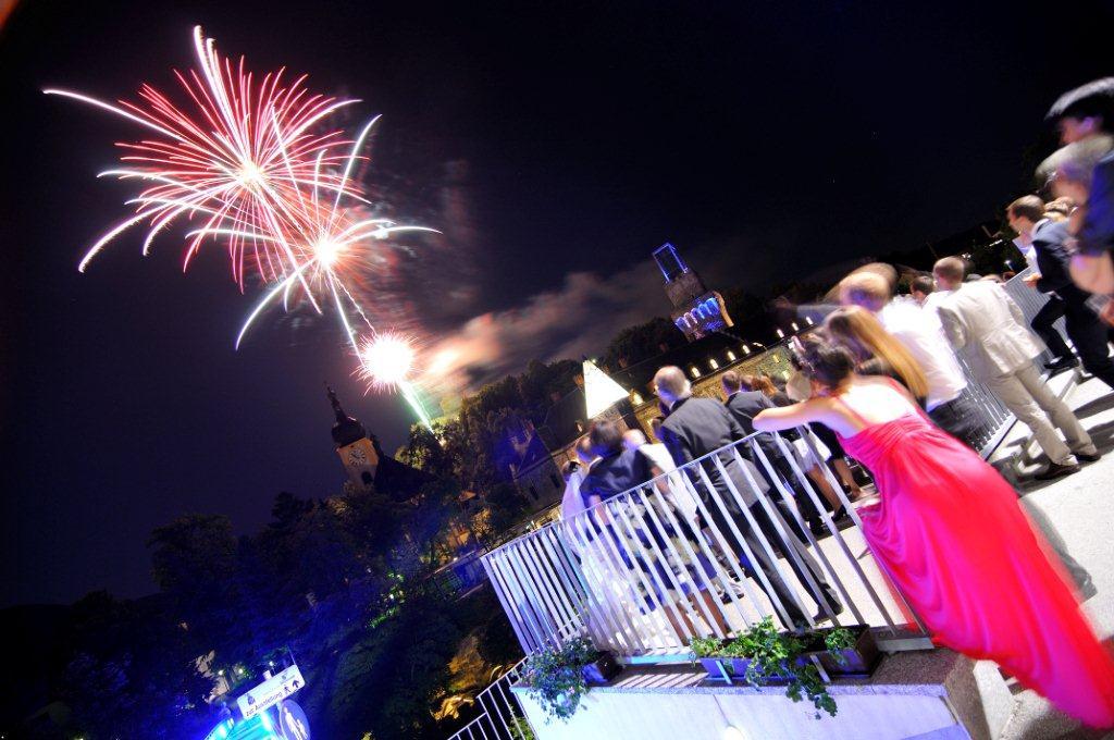Feuerwerk - © Schlosshotel Eisenstrasse