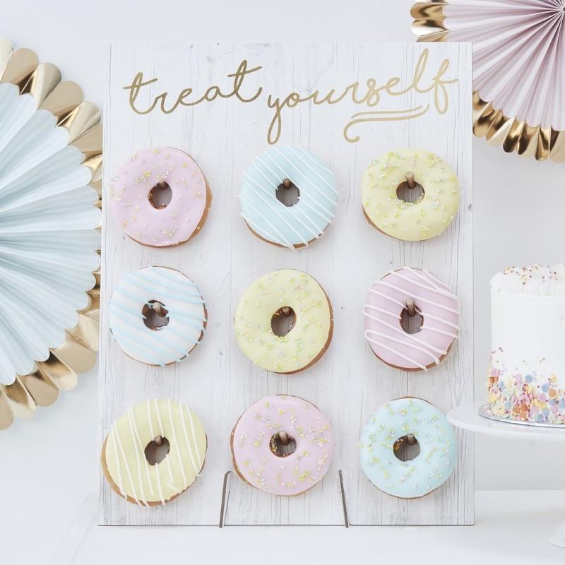 Donut-Wall - Hochzeitstrend 2019