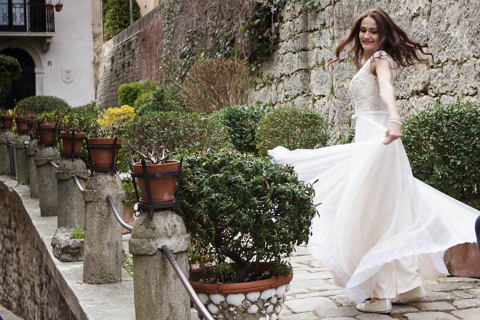 Erlaubt ist, was der Braut gefällt!