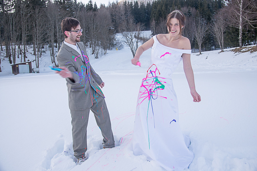 Trash the dress - Farbe!