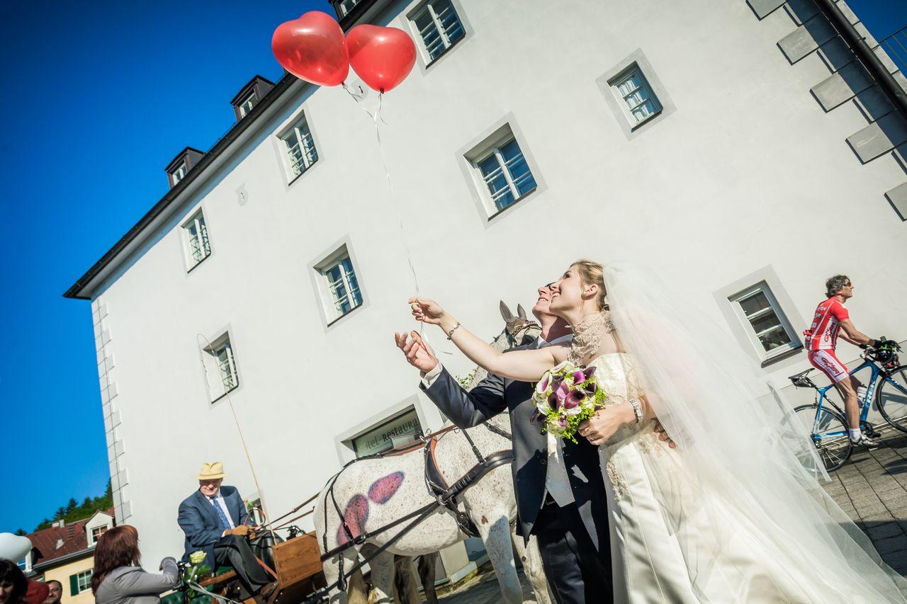 Brautpaar - © Schlosshotel Eisenstrasse