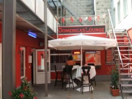 Bilder aus der ehemaligen Domenicas Lounge in der Herbertstraße auf St. Pauli