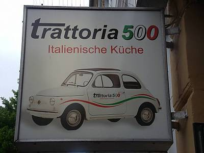 Trattoria 500 - Paul-Roosenstraße 19 Hamburg St. Pauli