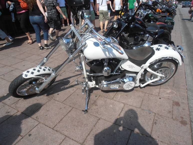 Impressionen Harley Days 2014 Spielbudenplatz Hamburg St. Pauli