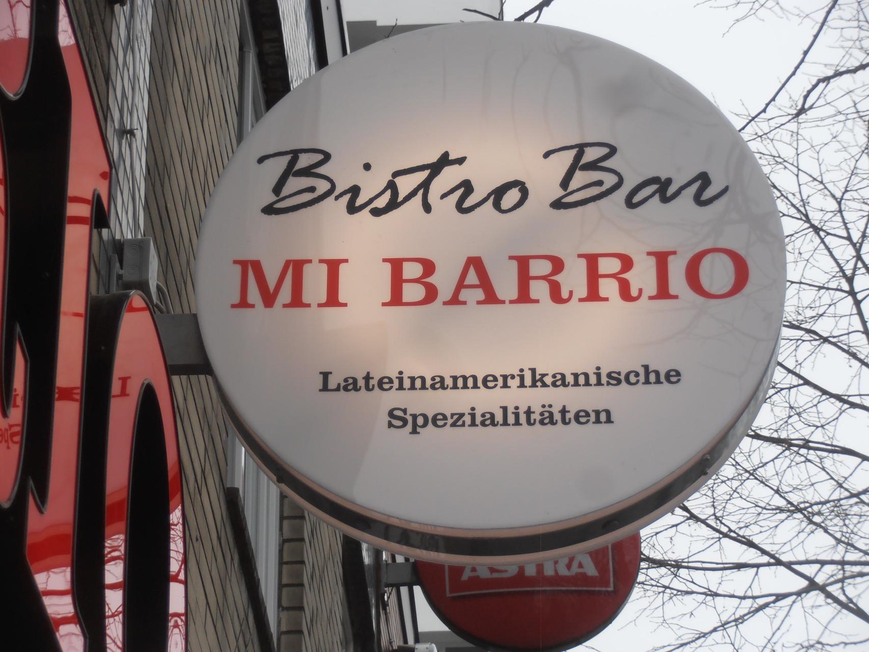 Ehemalige - Bistro Bar - MI BARRIO - Lateinamerikanische Spezialitäten - Reeperbahn 153 Hamburg St. Pauli