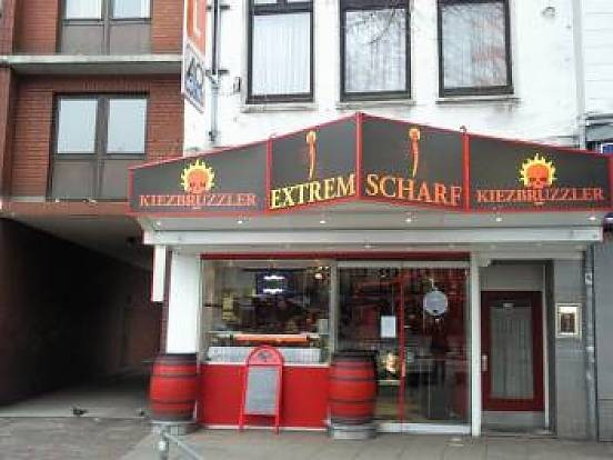 Ehemalige Location KIEZBRUZZLER an der Reeperbahn in Hamburg auf St. Pauli