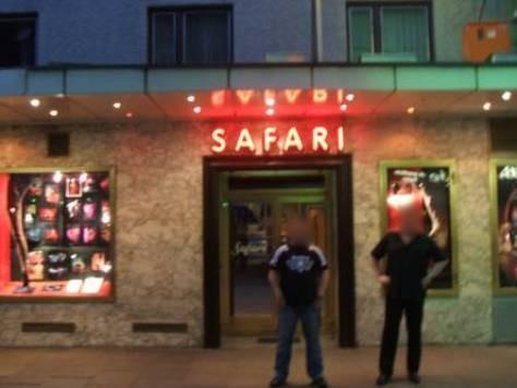 Ehemaliges Erotik Cabaret Safari - Große Freiheit 24 - 28 in Hamburg auf St.Pauli