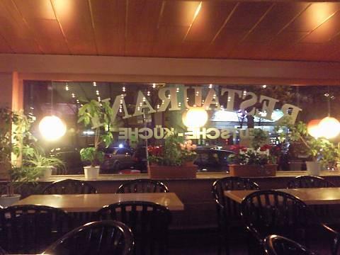 Blick aus dem ehemaligeen Cafe Möller am Beatles Platz Hamburg St. Pauli