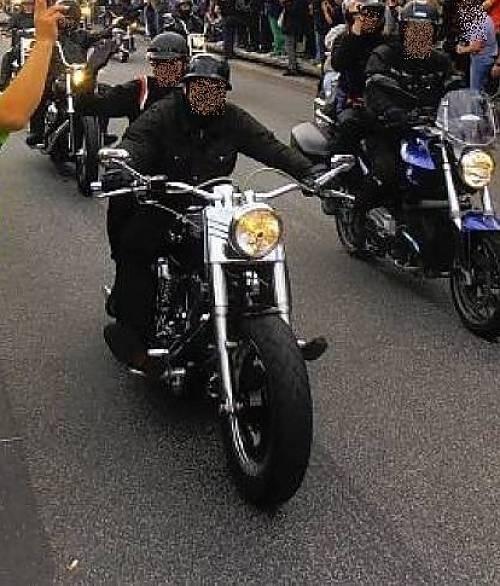 Impressionen Harley Days 2013 Spielbudenplatz Hamburg St. Pauli