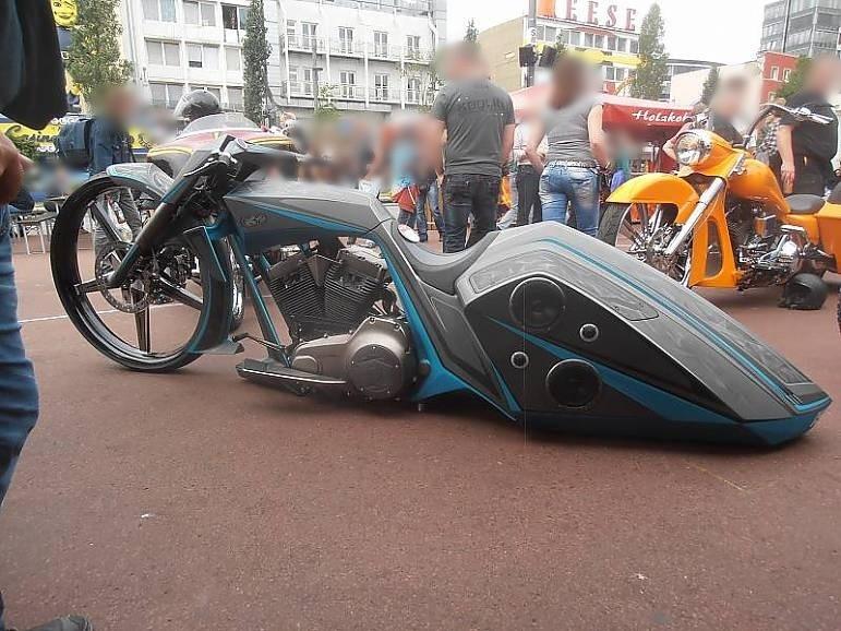 Impressionen Harley Days 2015 Spielbudenplatz Hamburg St. Pauli