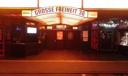 Große Freiheit 36 Hamburg St. Pauli
