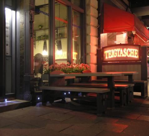 Restaurant TEIGTASCHE - Hein-Hoyer-Straße 10, Hamburg St.Pauli