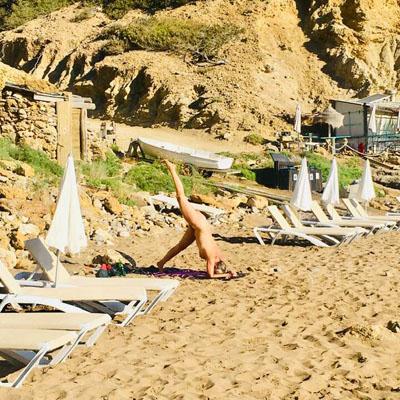 FKK Strand auf Ibiza Aguas Blancas