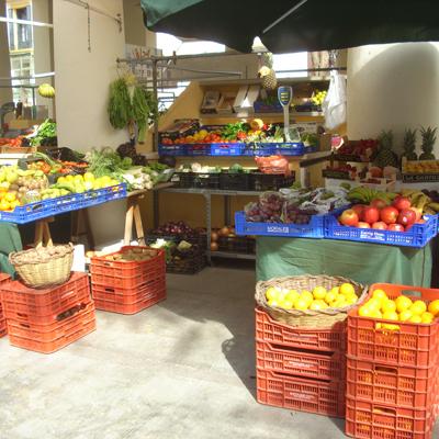Obst und Gemüse vom alten Markt