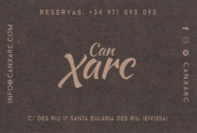 Restaurant Can Xarc in Santa Eulalia