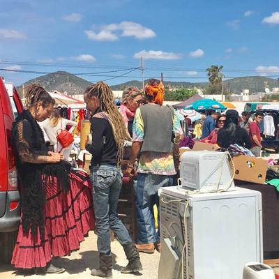 Ibiza Trödelmarkt in Sant Jordi