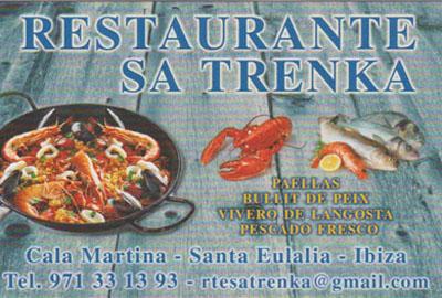 Strandrestaurant Sa Trenka in Cala Martina