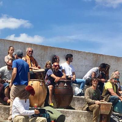 Ibiza samstags Trödelmarkt