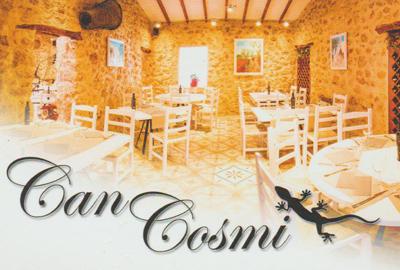 Can Cosmi Bar Restaurant in Santa Eulalia