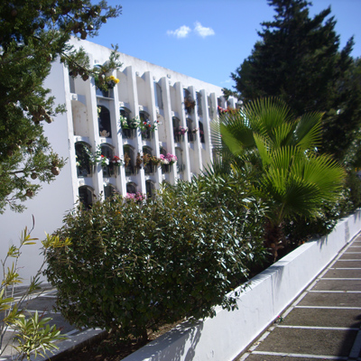 Friedhof in Santa Eulalia