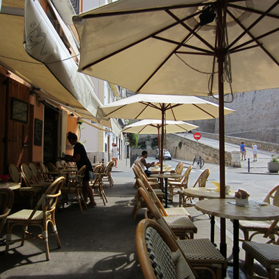 Croissant Show in Ibiza-Stadt
