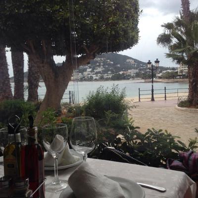 Bahia - beliebtes Restaurant in Santa Eulalia