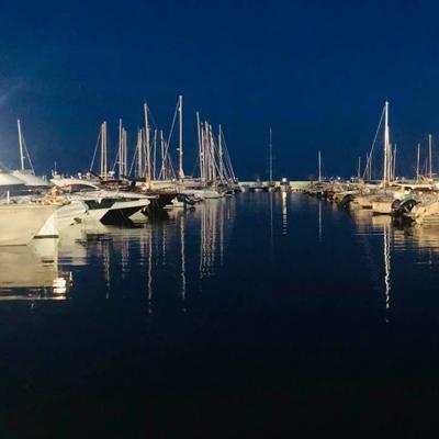 Jachthafen in Santa Eulalia
