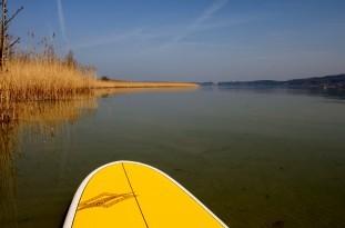 Mit dem Stand Up Paddle Board die St. Petersinsel erkunden
