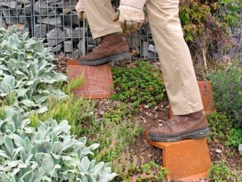 Böschungstritt, Gartentritt