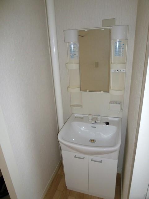 洗面台(お湯でます)