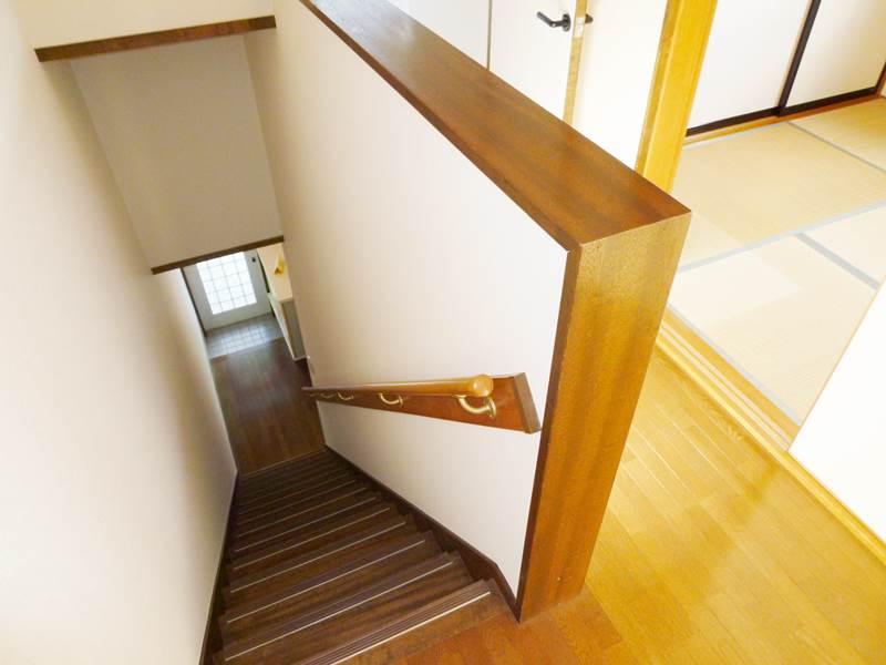 階段。2階より撮影