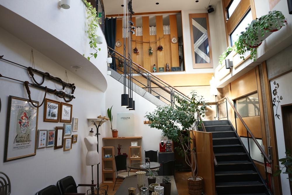 1階の共有スペース